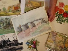 Три картины кисти Гитлера ушли с молотка