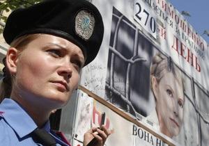 Суд начал рассмотрение кассационной жалобы по делу Тимошенко