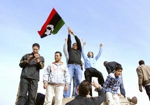 Ливийские повстанцы категорически отказались вести переговоры с Каддафи