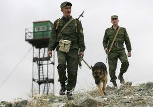 На российско-литовской границе вырвали из земли пограничный столб с гербом РФ