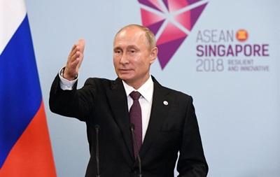 Путін пов язав графік зустрічей з Трампом із санкціями