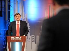 Ющенко примет участие в Большой политике на Интере
