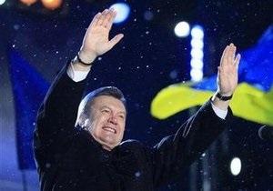 Янукович продолжает принимать поздравления с победой на выборах