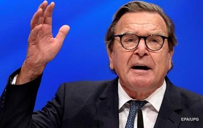 Герхард Шредер раскритиковал торговую политику США