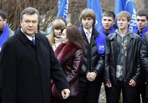 Янукович перепутал Балаклею с Балаклавой