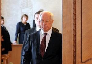 Пока Янукович будет встречаться с Медведевым в Донецке, Азаров съездит в Санкт-Петербург