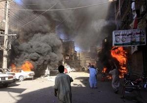 Теракт в Пакистане: 12 человек погибли, более 40 получили ранения