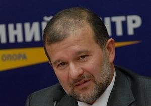 Балога призвал НУ-НС начать переговоры по созданию коалиции с Партией регионов