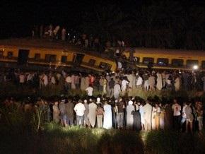 Число жертв крушения поездов в Египте возросло