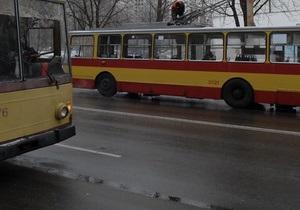 Маршрут троллейбуса №5 в Киеве продлили до площади Льва Толстого