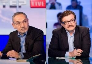 Герман не нравится, что украинские ток-шоу ведут российские журналисты. Шустер удивлен