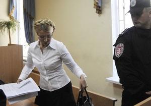 Прокурор закончила читать обвинительное заключение: Тимошенко грозит до десяти лет лишения свободы