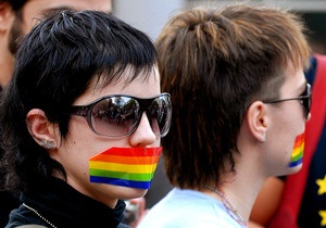 Гей-парад при участии дипломатов из Европы и США в Кишиневе длился всего несколько минут