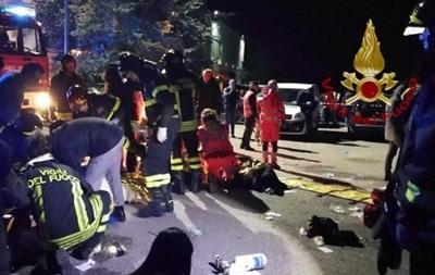 Наконцерте вИталии шесть человек погибли в ужасной  давке