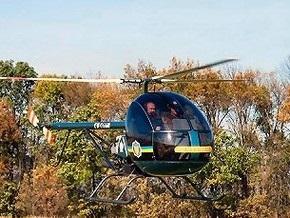В Кременчуге во время учебных полетов упал вертолет