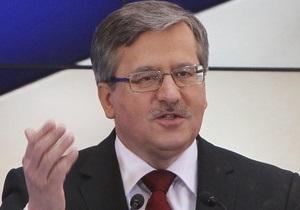 Представители оппозиции рассказали о встрече с Коморовским