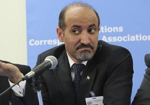 Сирийская оппозиция передала представителям Запада список целей для атаки по силам Асада