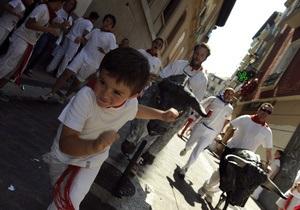 Фотогалерея: Танцы с быками. В Испании проходит знаменитый фестиваль Сан-Фермин