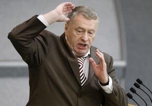 Жириновский сообщил, почему не указал в декларации жену