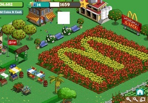 McDonald's открыл первую брендированную ферму на FarmVille