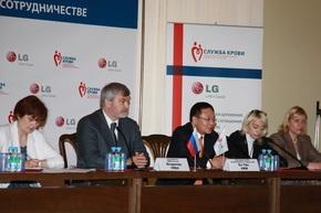 Компания LG Electronics поддерживает добровольное донорство