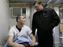 Луценко в Косово посетил раненых миротворцев