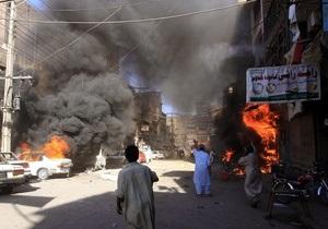 Жертвами очередного теракта в Пакистане стали 20 человек