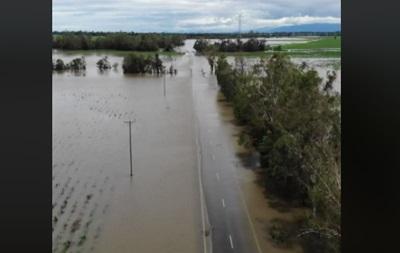 На Австралию обрушились сильные дожди