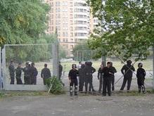 На территории киевского университета дизайна хотят установить строительный забор