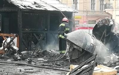 Появились подробности о взрыве на ярмарке Львова