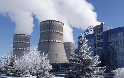 На Ровенской АЭС внепланово отключился энергоблок