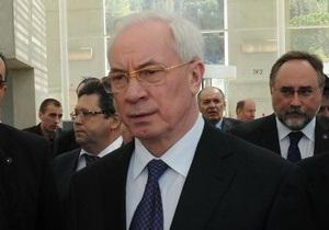 Азаров отрапортовал о первой завершенной реформе