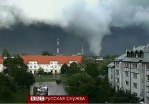 Торнадо в Польше