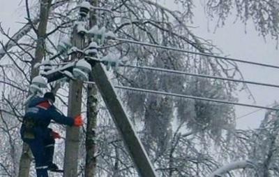 Без світла в Україні залишаються півтисячі сіл