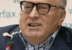 Фотогалерея: Киевский капустник. Репортаж со скандальной пресс-конференции Жириновского