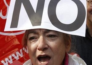 В Мадриде более миллиона человек вышли на митинг против трудовой реформы