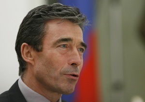 Расмуссен напомнил Москве, что расширение НАТО не угрожает России