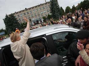 Тимошенко отдаст многодетным семьям конфискованные у контрабандистов автомобили