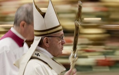 Папа Римський стурбований ситуацією на Донбасі