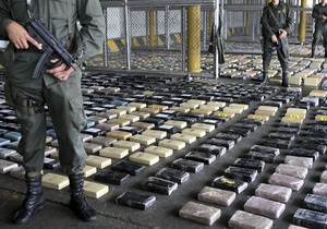 Колумбийские солдаты захватили две тонны кокаина
