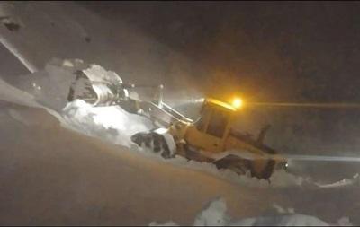 В страдающем от засухи Израиле выпал снег