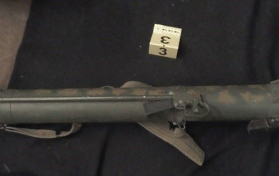 У Луганській області знайшли схованку зі зброєю