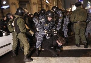 МИД: Граждан Украины среди задержанных в Москве участников акций протеста нет