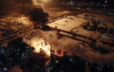 Пожежа в Калуші: населенню нічого не загрожує