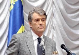Ющенко грозится распустить Раду через 100 дней