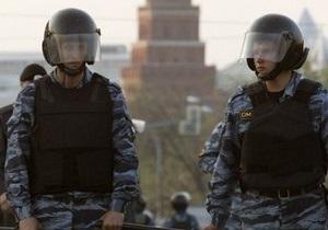 Полиция очистила лагерь оппозиции на Чистых прудах