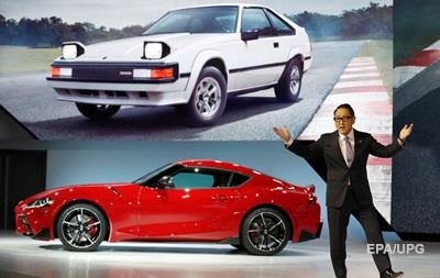 Легендарная Supra стала BMW. Автошоу в Детройте
