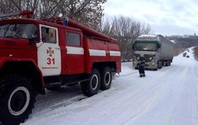 На трассе в Днепропетровской области произошла масштабная авария