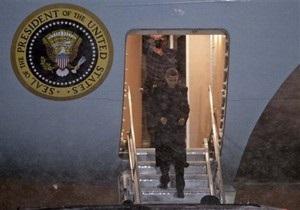 Снегопад помешал Обаме вернуться домой на вертолете