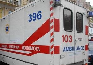 В Киеве женщина-водитель на тротуаре сбила беременную женщину